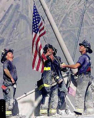 9-11_firefighters_w_flag